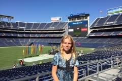 Rachael Qualcomm Stadium